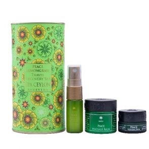 Peace lemongrass recovery set 2,800 yen (tax-excluded)